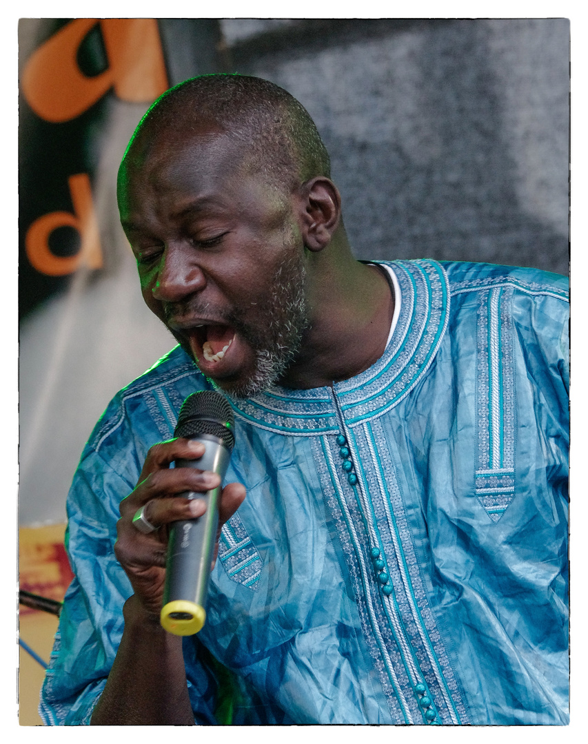 Festival mit Afrika - Abdoulaye Seck