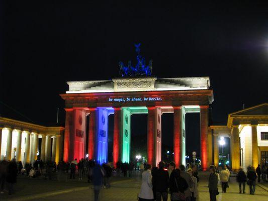 Festival of Light 2008 - Brandenburger Tor 3