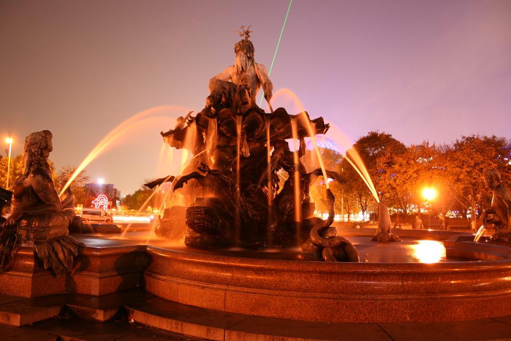 Festival of Lights '08 - Neptunbrunnen
