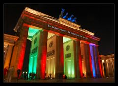 Festival of Lights 2008 - am Brandenburger Tor