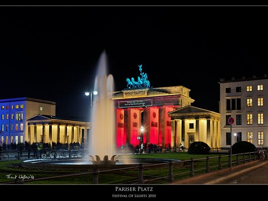 Festival Of Lights 2010 - Pariser Platz