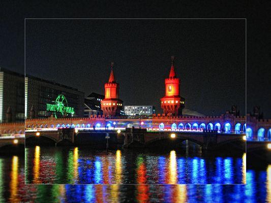 Festival of Lights 2011: Oberbaumbrücke