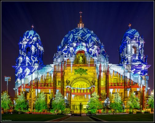 Festival of Lights 2012 Berliner Dom