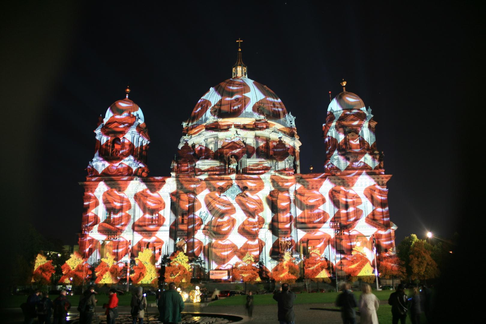 Festival of Lights 2013 Berliner Dom ;-)