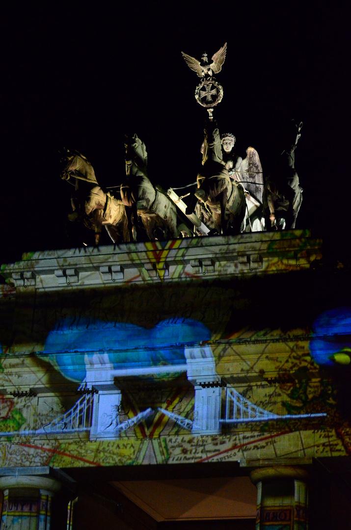 Festival of Lights 2013 - Brandenburger Tor
