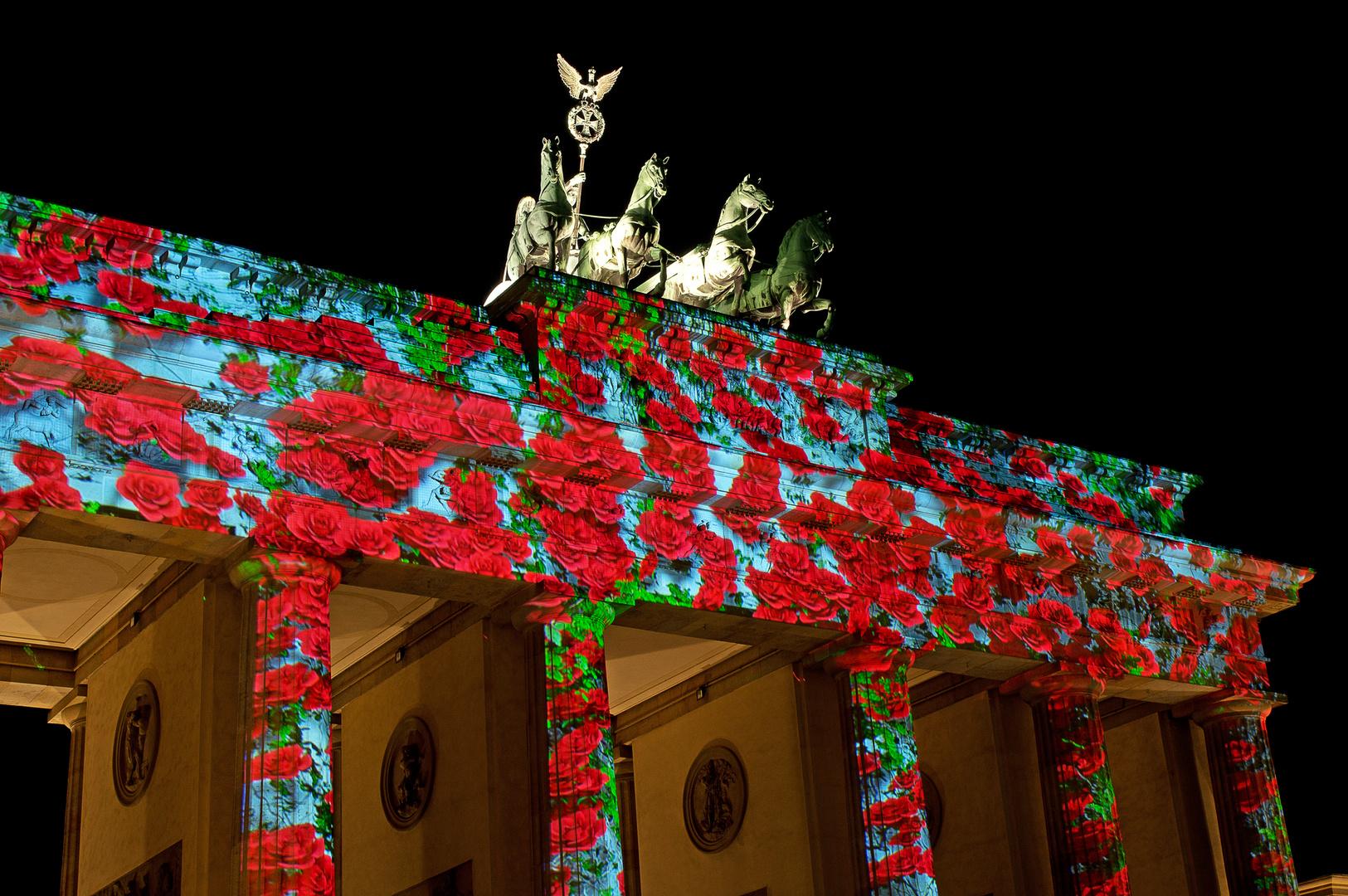 Festival of Lights - 2013 Brandenburger Tor