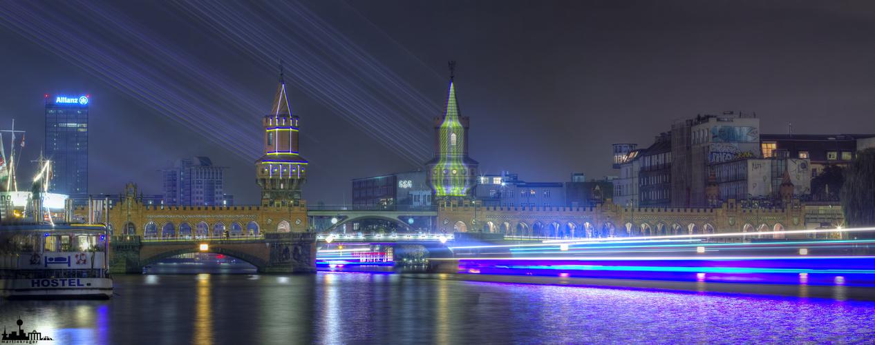 Festival of Lights 2013 - Oberbaumbrücke