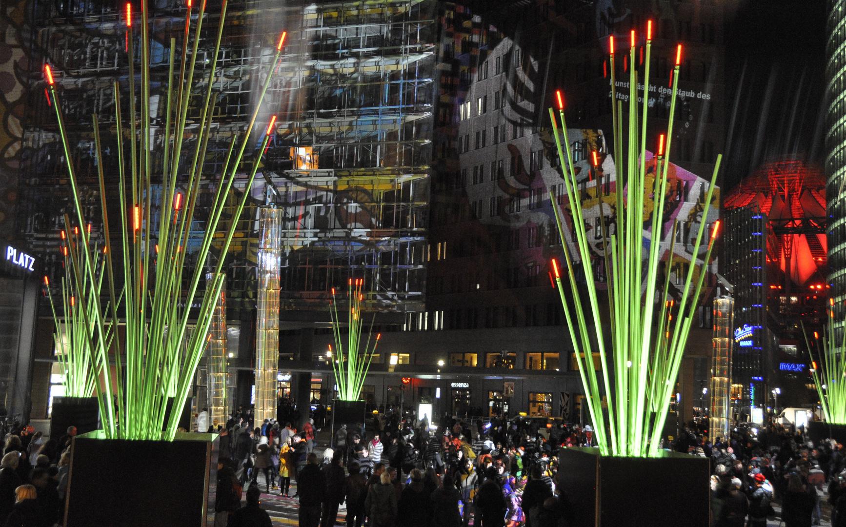 Festival of lights 2014, Berlin Potsdamer Platz