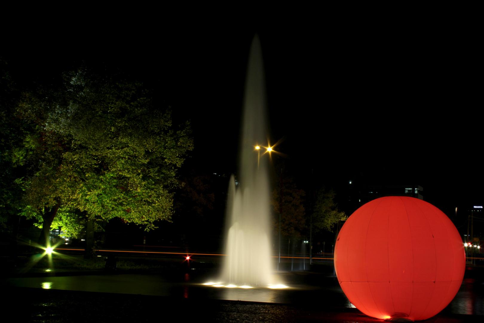 Festival of lights Berlin 2012 am Ernst reuter platz