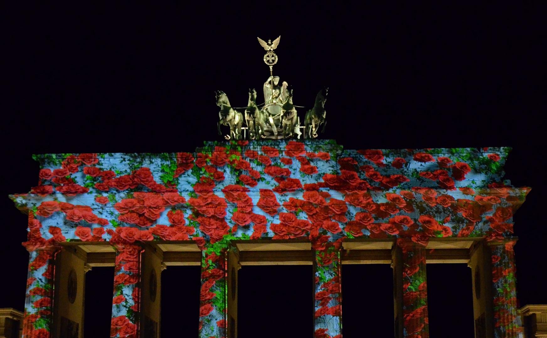 Festival of Lights Brandenburger Tor