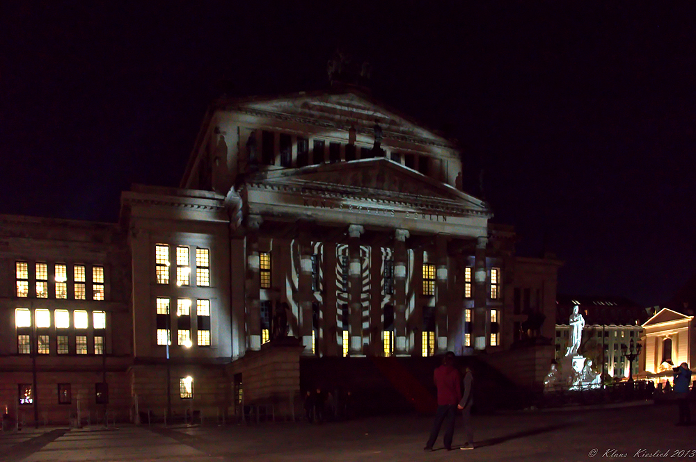 Festival of Lights ,Gendarmenmarkt.....