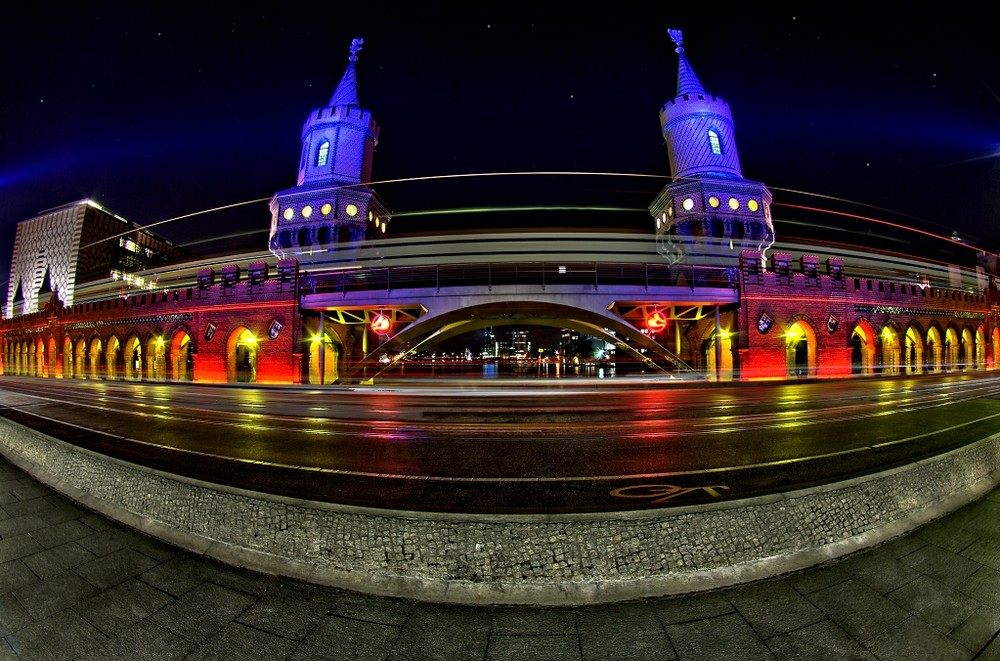 Festival of Lights- Oberbaumbrücke