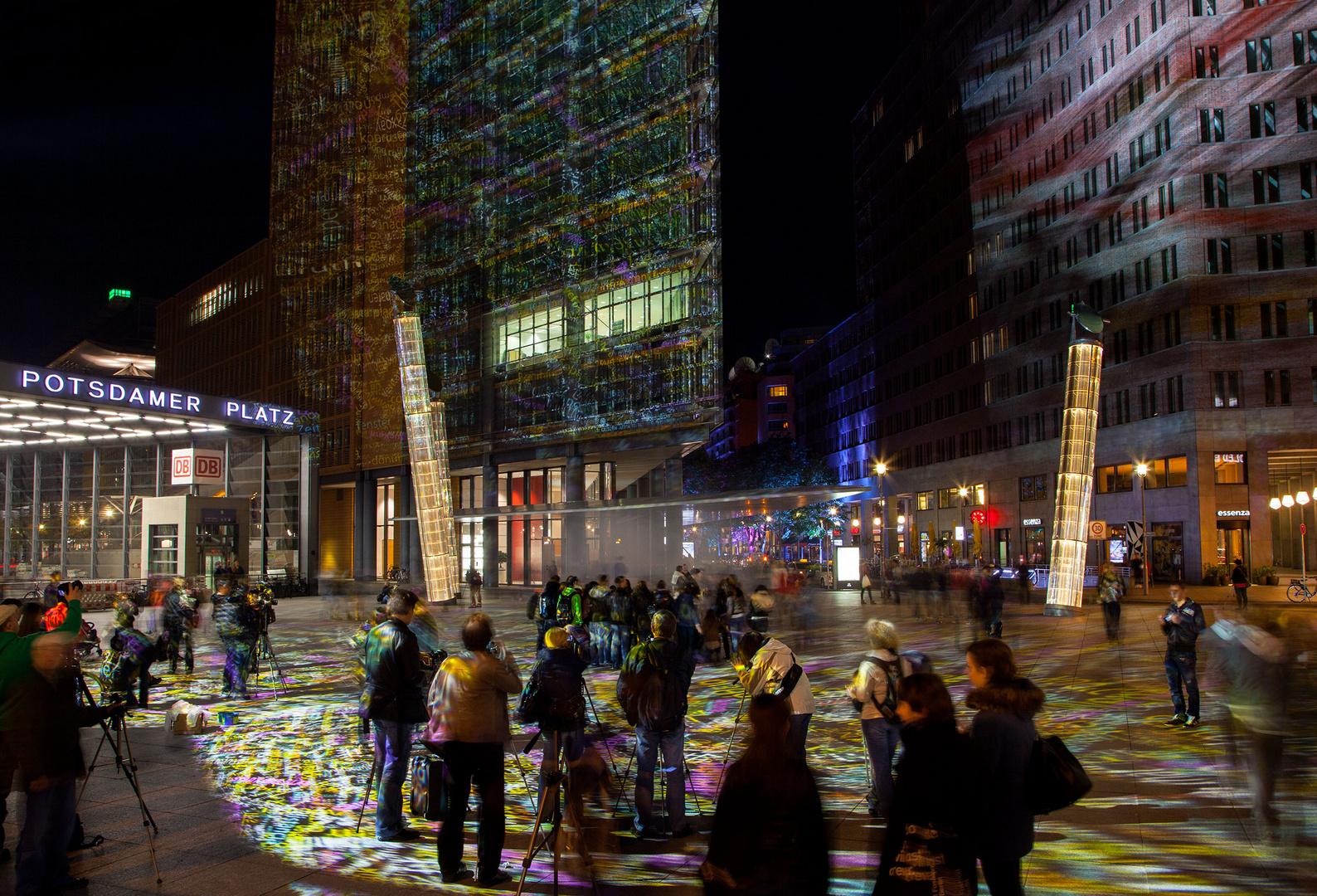 Festival of Lights - Potsdamer Platz
