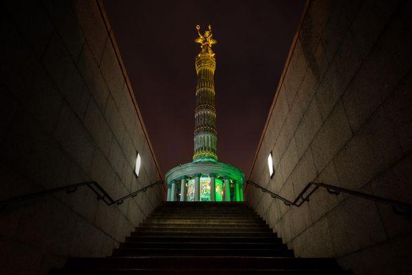 festival of lights - von unten