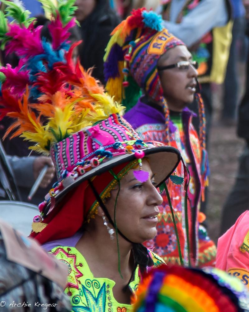 Festival of the Virgin in Huayllabamba #13