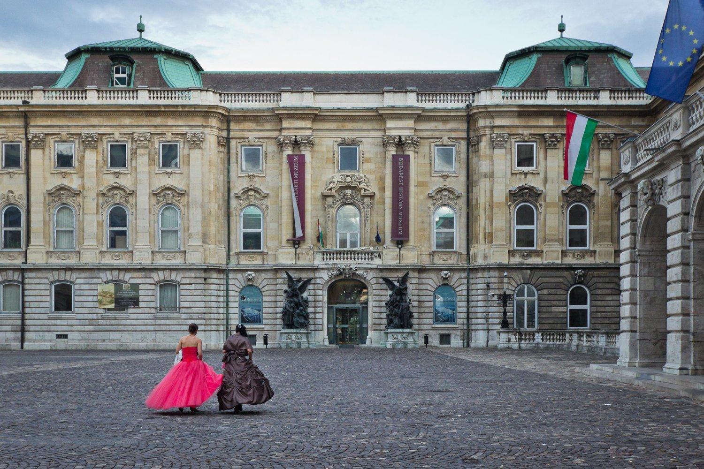 Festivitäten im Burgpalast