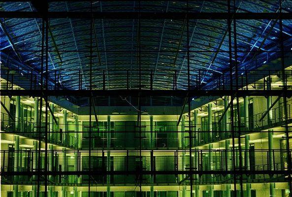 Festo Hauptverwaltung bei Nacht