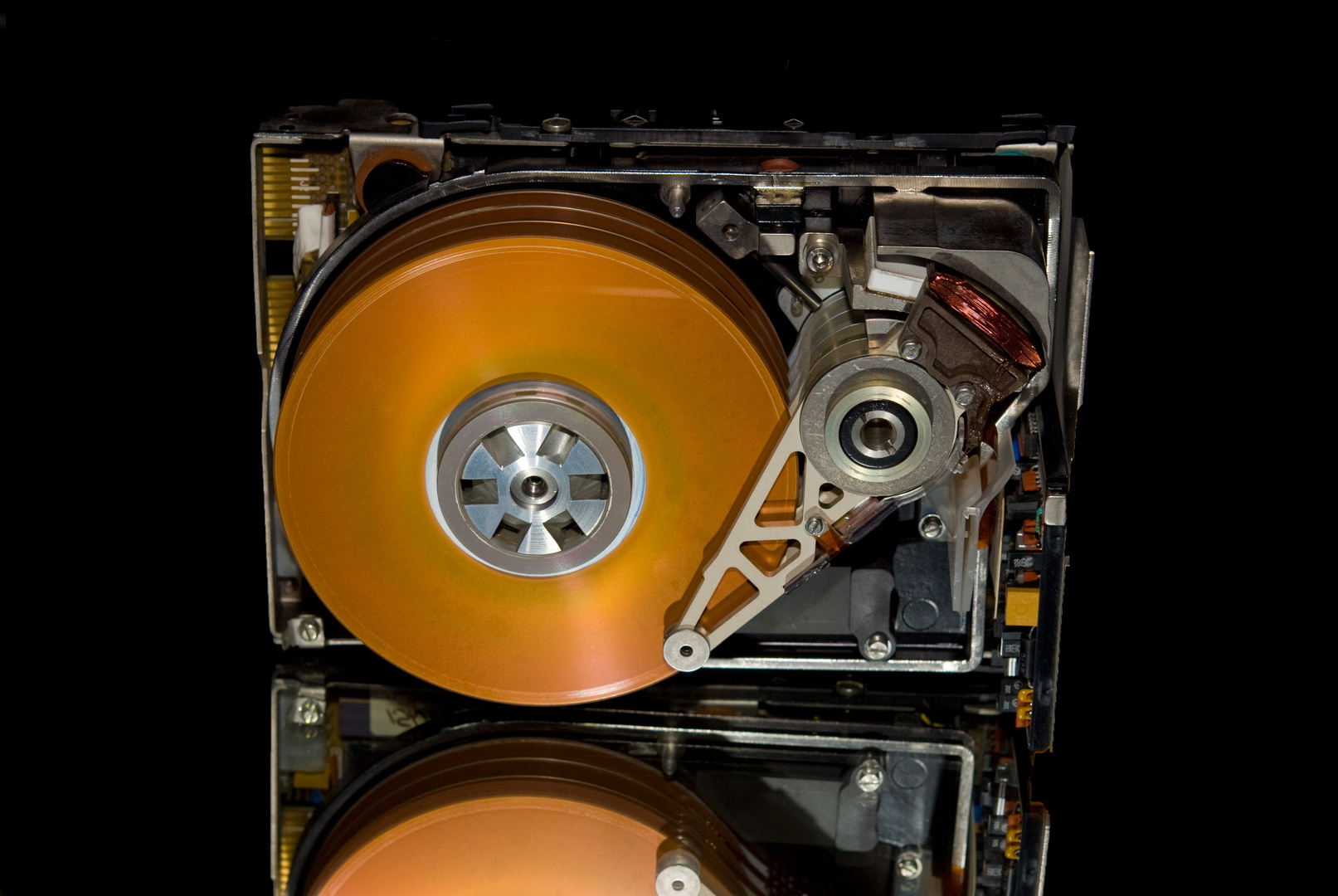 Festplatte ca. 10 MB, 3,5 kg schwer