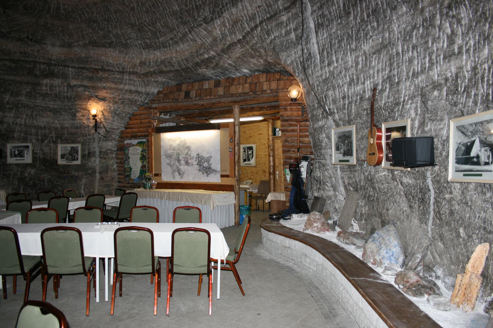 Festsaal unter der Erde