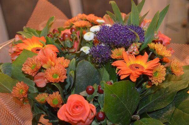 Festtags-Blumen :)