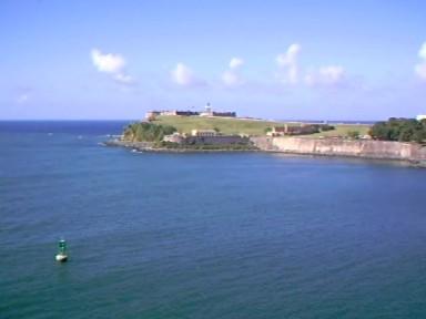 Festung auf Puerto Rico Karibik
