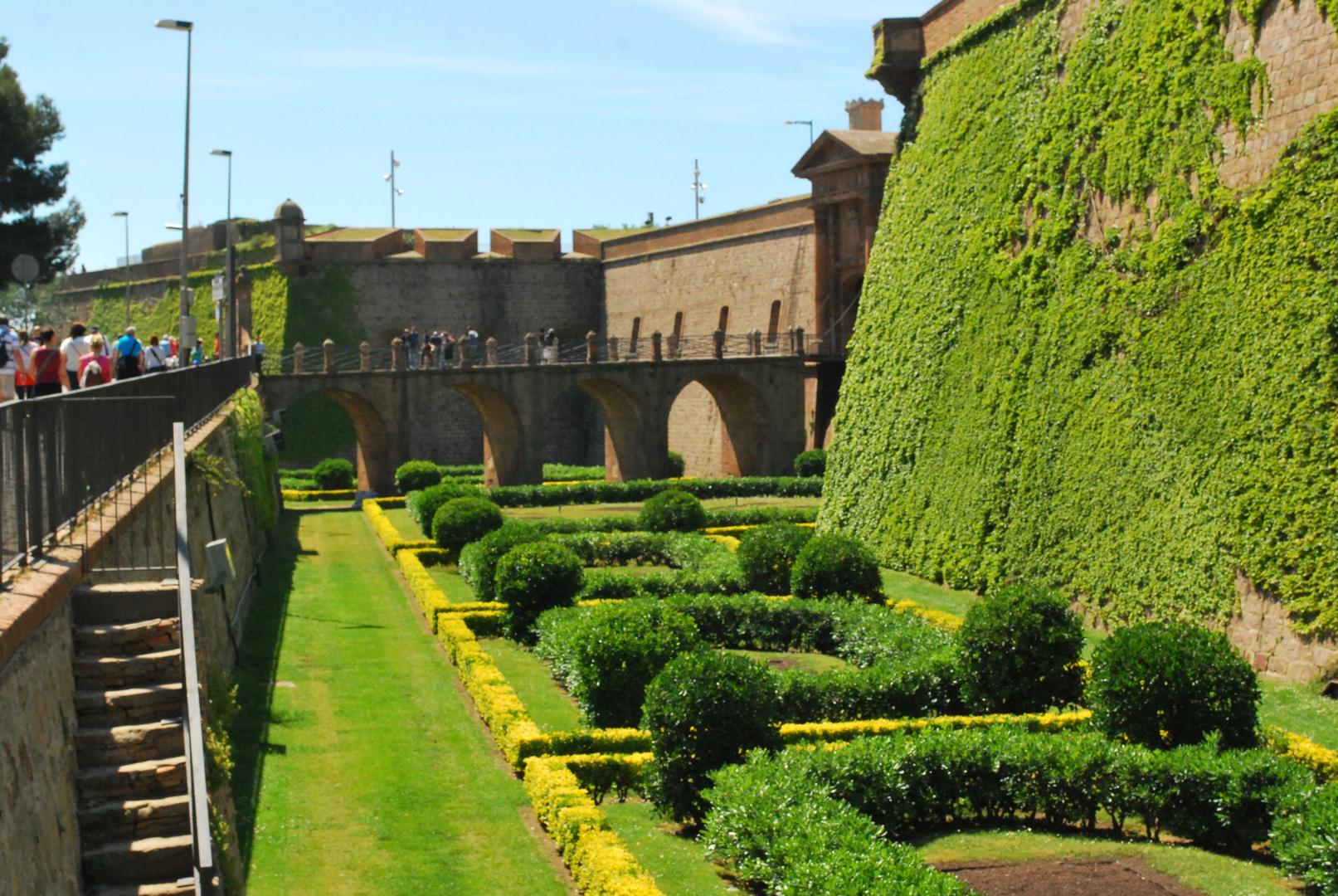 Festung Barcelona (Festungsgraben)