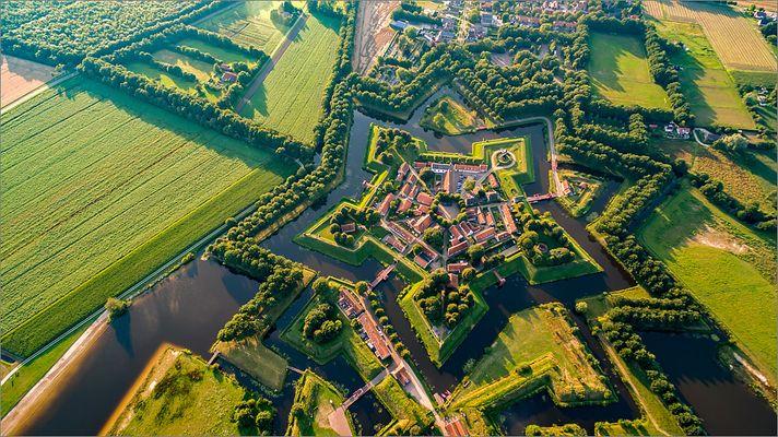 """Festung Bourtange I """"Fliegendes Stativ"""""""