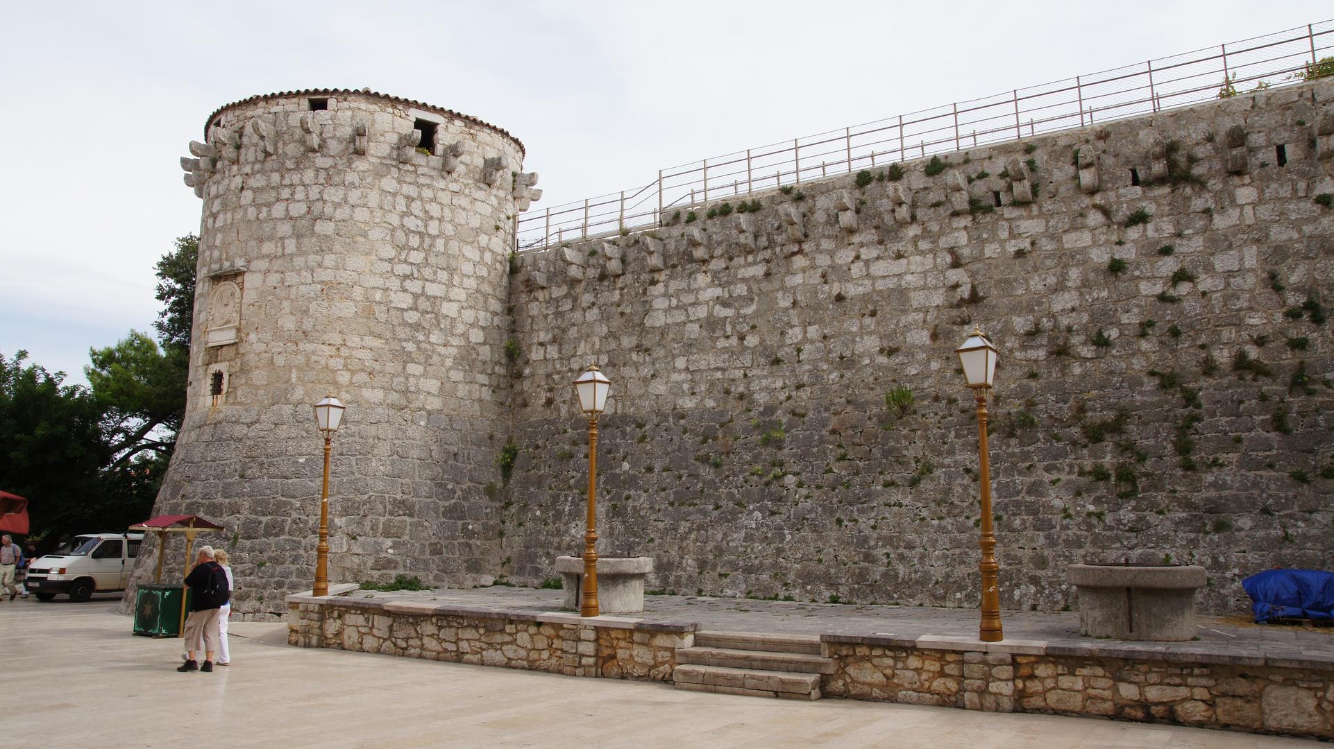 Festung der Stadt Krk (Insel Krk)