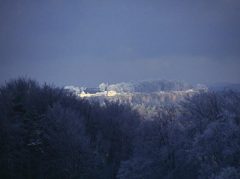Festung im Winter