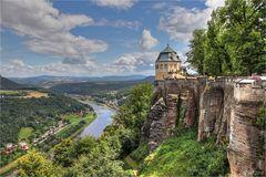 Festung Königstein - die Friedrichsburg