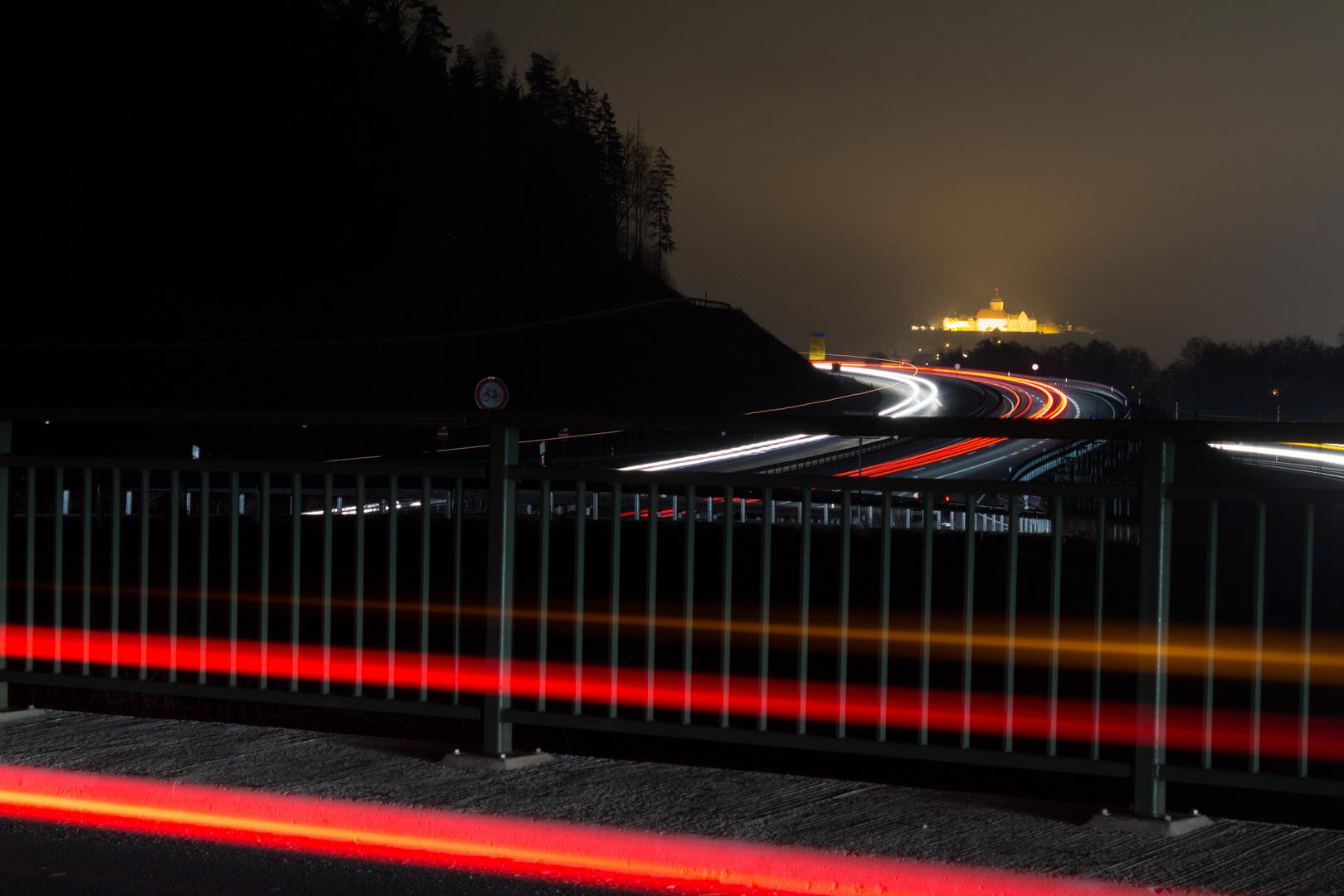 Festung Rosenberg - Verkehr aus allen Richtungen