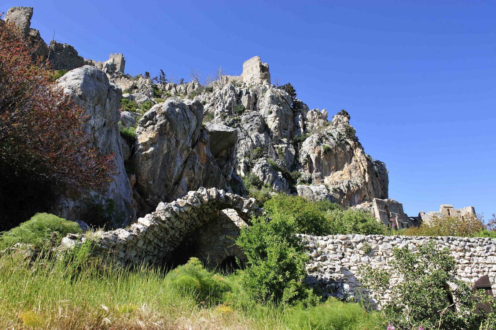 Festung St. Hillarion über Kyrenia