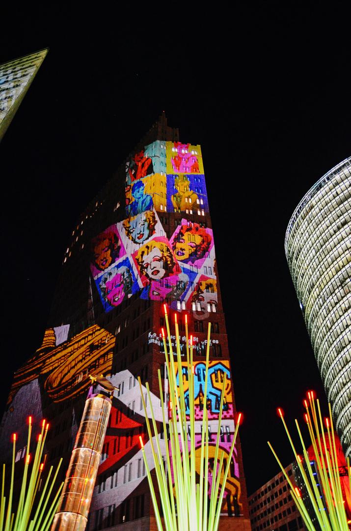 Festval of Lights 2013 - Potsdamer Platz