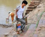 Fetching water 2