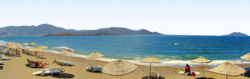 Fethiye - Calis Beach (Strand) Panorama