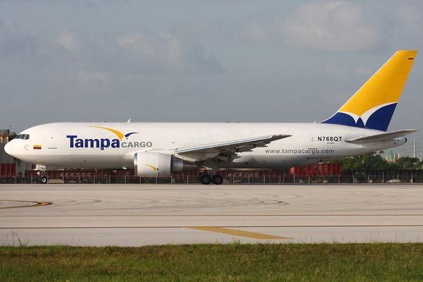 Fette Tampa Cargo im Morgenlicht