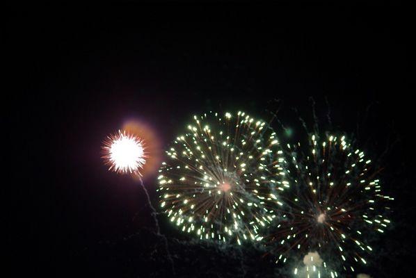 feu artifice du 14 juillet
