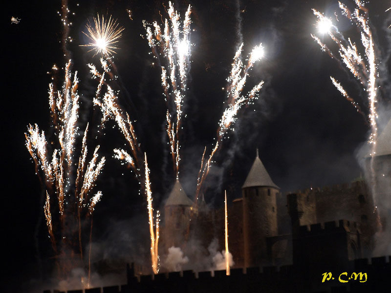 Feu d'artifice Carcassonne
