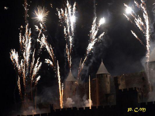Feu d'artifice Carcassonne