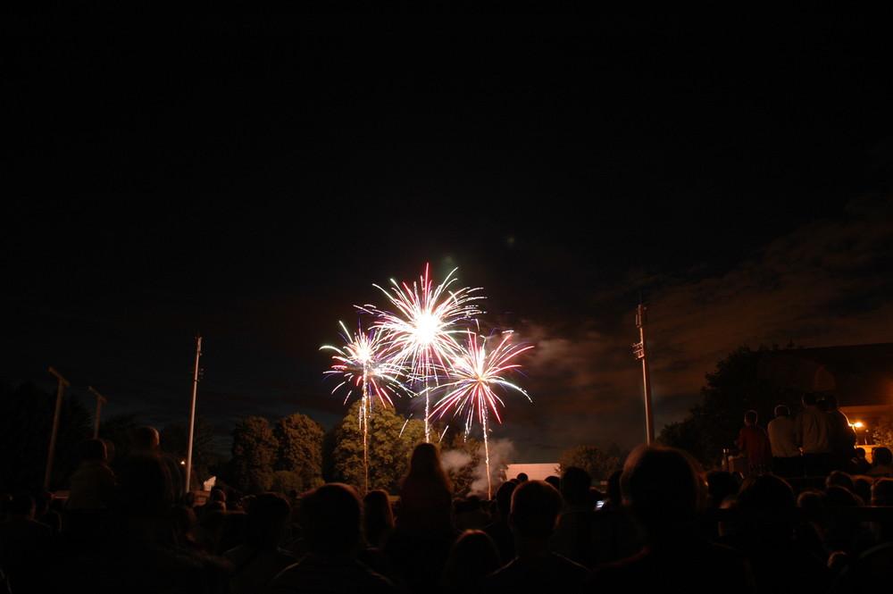 Feu d'artifice du 21 juillet à Waterloo, Belgique (2)