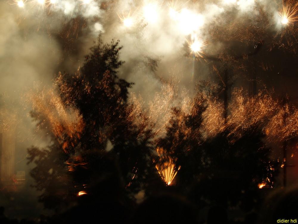 feu et lumier