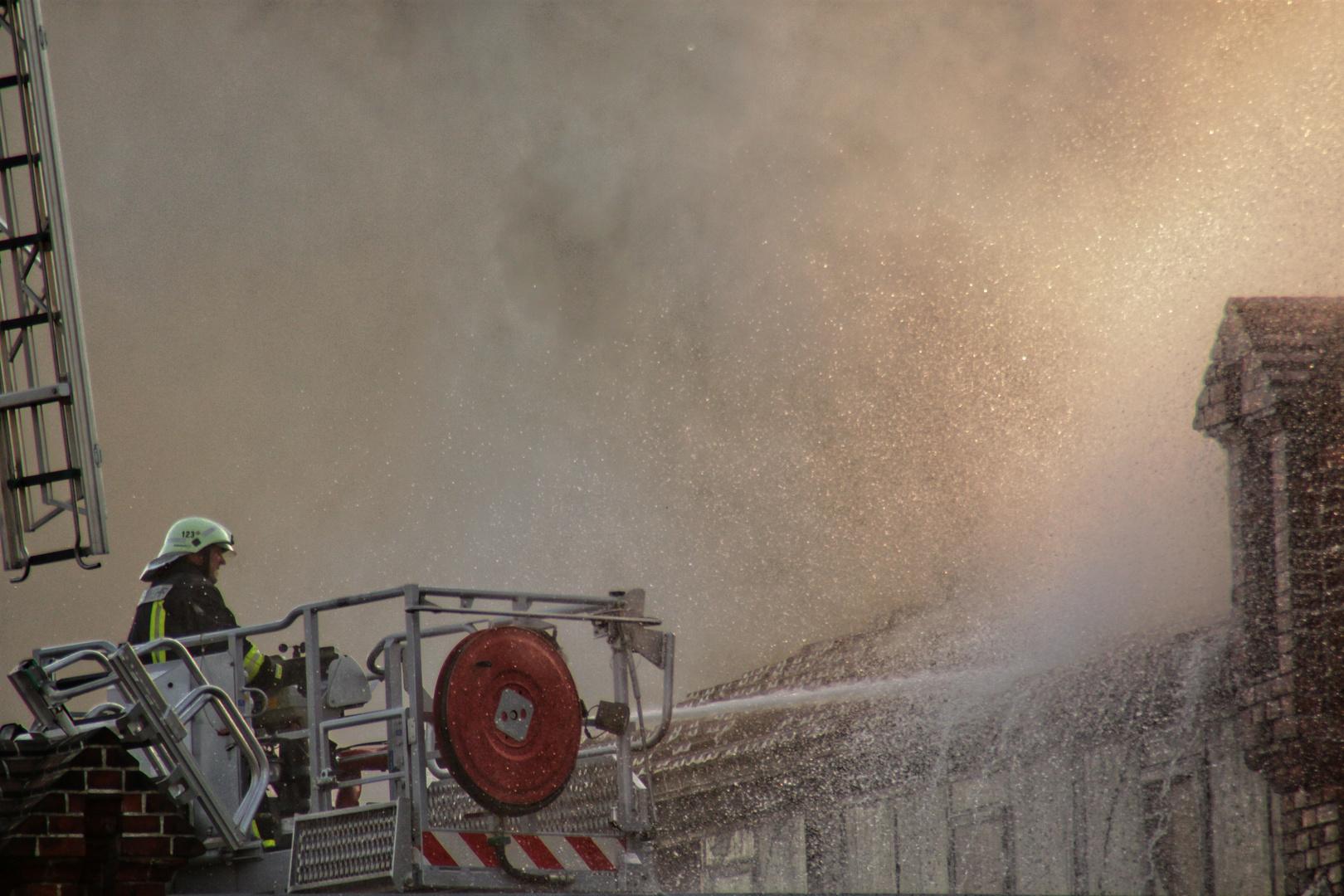 Feuer am Cottbuser Ring