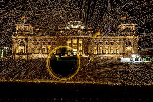 Feuer am Reichstag