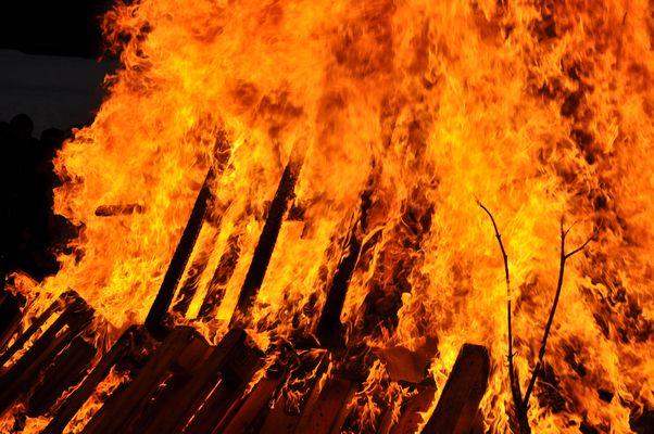 Feuer an Walburgesnacht/Valborg 30 April