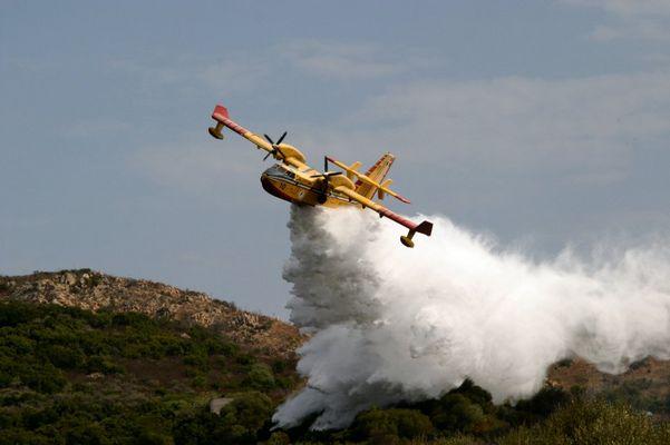 Feuer auf Sardinien