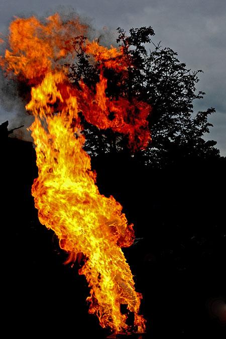 Feuer aus Wasser