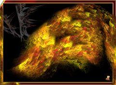 Feuer-Flamme-Fantasie