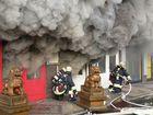 Feuer in Chinarestaurant