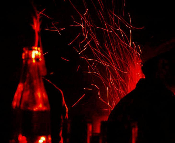 Feuer in der CocaCola
