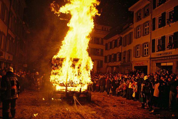 Feuer in Liestal (CH)